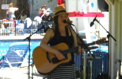Elana Jagoda in concert at the JCC outdoor pool, June 5.