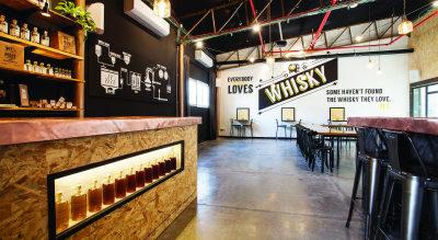 Milk & Honey, a distillery in Jaffa, recently opened a visitor's center. (Courtesy of Milk & Honey)