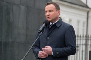 Polish president Andrzej Duda (Mateusz Wlodarczyk/Getty)