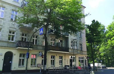 An apartment building on Fontane Street in Berlin's Neukölln district.
