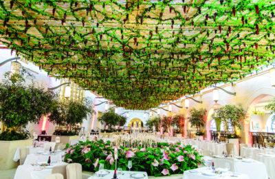 Thee Studio Ya Ya-designed sukkah at the Waldorf Astoria Jerusalem.