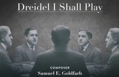 """Album cover for """"Dreidel I Shall Play"""" by composer Samuel E. Goldfarb. (Courtesy of Myron Gordon)"""