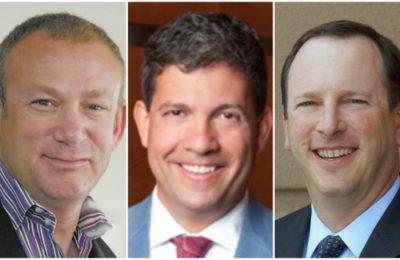 L-r: Doug Seserman, Ben Valore-Caplan, Gary Wagner
