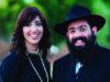 Rabbi Ari Edelkopf and wife Chana in 2009 in Sochi, Russia.