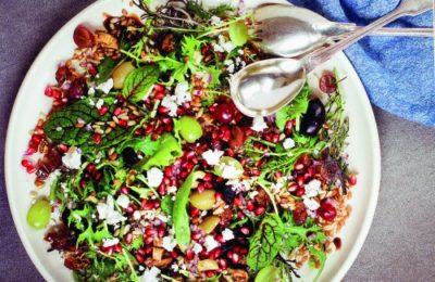 Joan Nathan's Seven Sacred Species Salad.