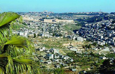 Jerusalem skyline (Joyce Goldschmid)