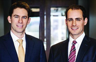 Jonathan Sar, left, and Sean Leventhal