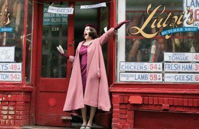 Rachel Brosnahan as Mrs Maisel (Amazon Studios)
