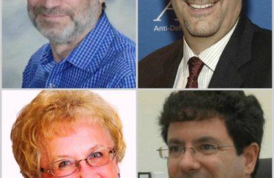 Clockwise from upper left: Neal Price, Scott Levin, Avi Halzel, Janet Jacobson