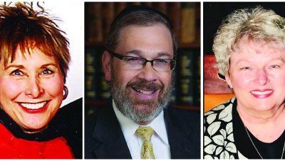 Three of the Denverites who reflected on their first times in Israel, l-r: Marlin Barad, David Japha, Loretta Cawelti